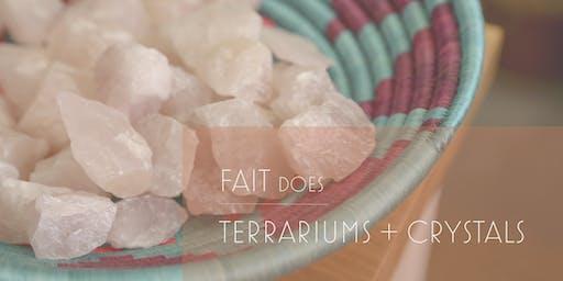 Create Your Own :: Terrarium + Crystals