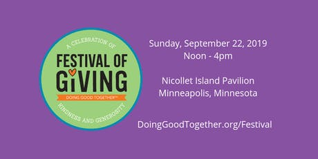 Doing Good Together™ Festival of Giving tickets