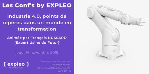 Les Conf' By EXPLEO : Industrie 4.0, points de repères