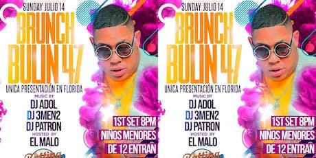 BULLIN 47 EN BATTING CAGE ESTE DOMINGO 14 DE JULIO tickets