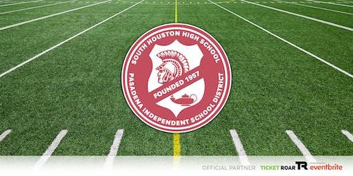South Houston Varsity Football Season Ticket 2019