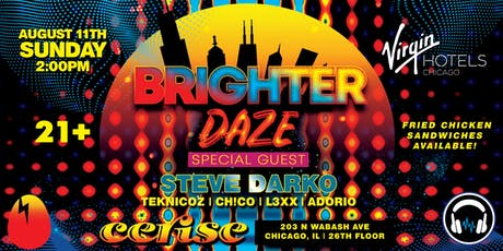 Brighter Daze featuring Steve Darko tickets