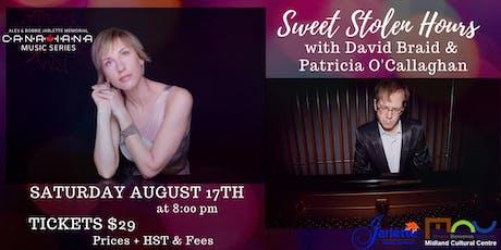 Patricia O'Callaghan & David Braid - Jarlette Canadiana Music Series tickets