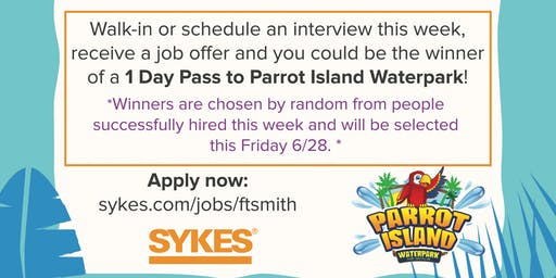 SYKES Ft. Smith Open Interviews