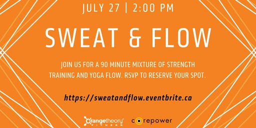 Sweat and Flow - CPY x OTF
