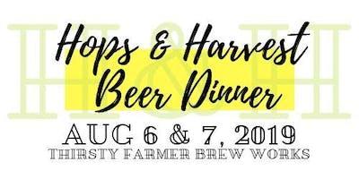 Hops & Harvest Beer Dinner at Thirsty Farmer Brew Works