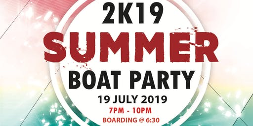2k19 Summer Boat Party