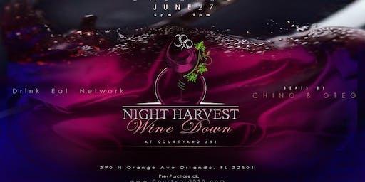 Night Harvest Winedown at Courtyard 390 THURSDAYS