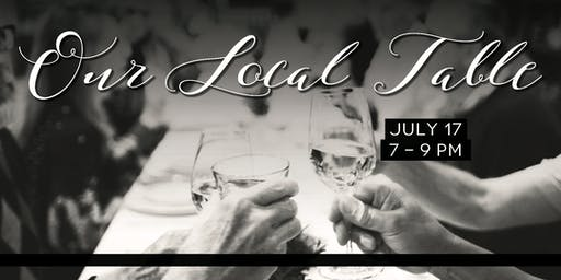 Mint + Craft Presents: Our Local Table, A Community Dining Experience