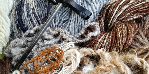 """Creative Arts Workshop - """"Make Your Own Yarn with a Drop Spindle"""" with Stephanie Ondo"""