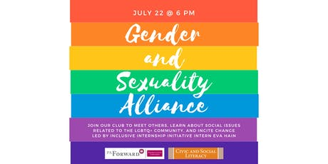 Gender and Sexuality Alliance  tickets
