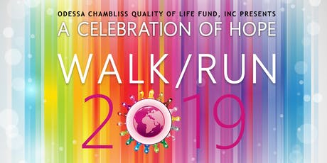 2019 Celebration of HOPE 5K Walk|Run tickets