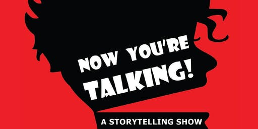 """Now You're Talking!"" presents ""Open Mic Storytelling Night"" - Sea Cliff September 2019"