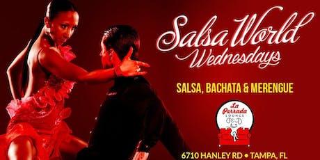 Salsa World Wednesday Latin Night at La Perrada Lounge tickets