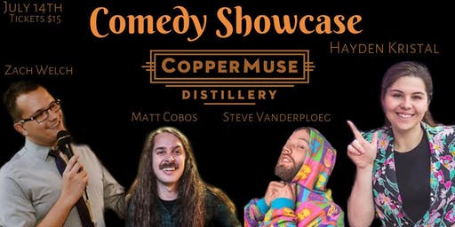 Comedy Show at CopperMuse Distillery in Fort Collins
