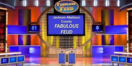 2019 Jackson-Madison County Fabulous Feud WITH CALEB SERRANO tickets