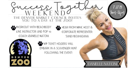 Success Together Weekend at the Denver Zoo Featuring Danielle Natoni tickets