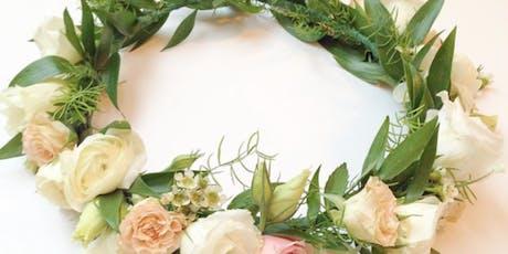 Wine & Design: Floral Crowns tickets