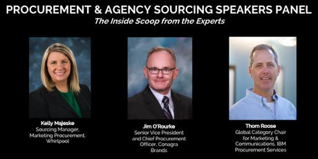Procurement and Agency Sourcing Speakers Panel billets