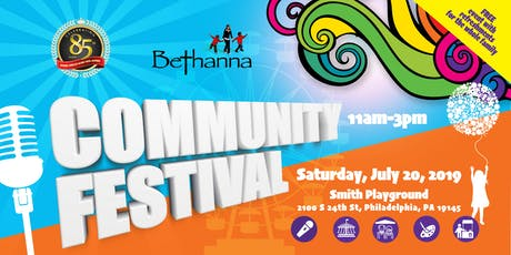 Bethanna Community Festival tickets