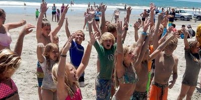 Take A Kid Surfing Day#4 66th Ave Beach Access Myrtle Beach, SC