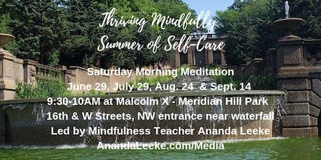 Thriving Mindfully Saturday Morning Meditation Class tickets