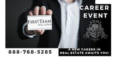 Anaheim Hills First Team Real Estate Career Night