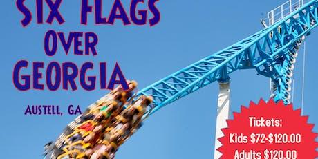 Six Flag Theme Park Day Trip tickets