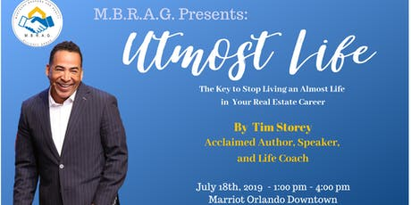 Utmost Life - Live Seminar By Tim Storey tickets