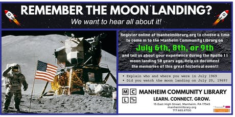 Apollo 11 Anniversary Oral History Project - July 8 tickets