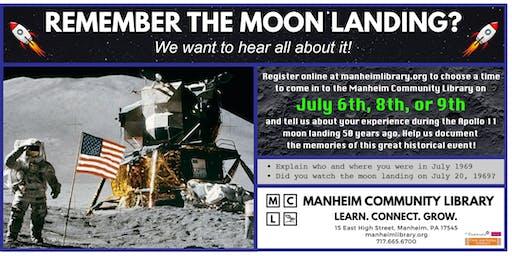 Apollo 11 Anniversary Oral History Project - July 8
