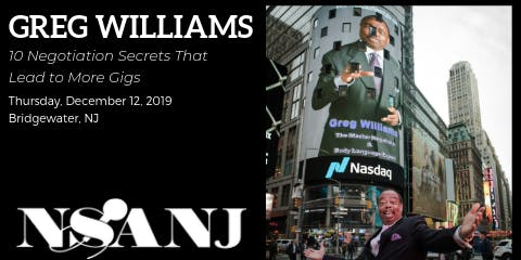 Greg Williams:10 Negotiation Secrets That Lead to More Gigs