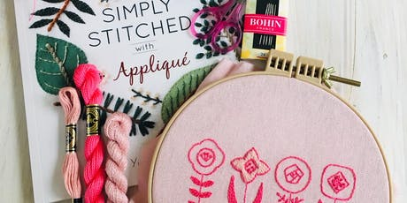 Intro to Modern Botanical Embroidery tickets