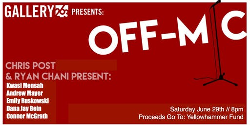 Off Mic Comedy at Gallery263