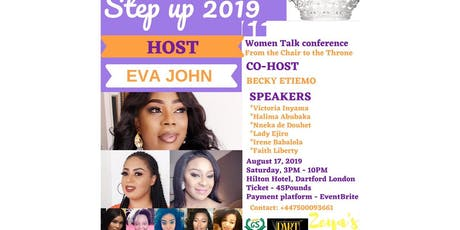 Step Up 2019 - Women's Talk Conference tickets