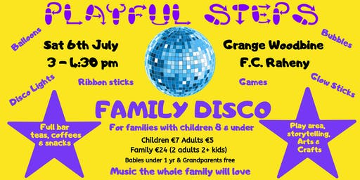 Playful Steps Family Disco