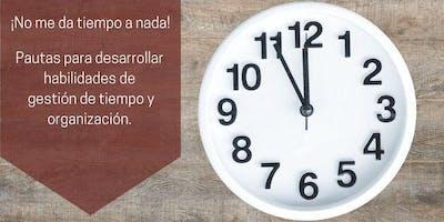 WEBINARIO 100% OFF:  ORGANIZACIÓN DEL TIEMPO, LA VIDA Y EL TRABAJO.