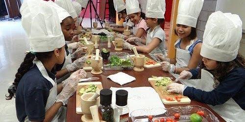 Cool Kids Can Cook Naan Pizza & Cake Pop Class