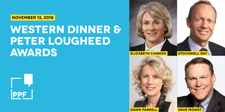 2019 Western Dinner & Peter Lougheed Awards tickets