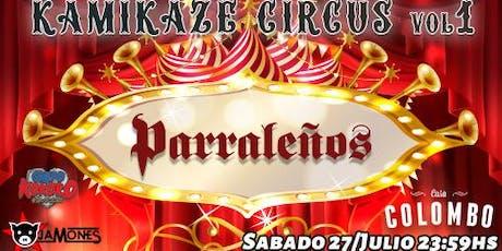 Kamikaze Circus vol. 1 entradas