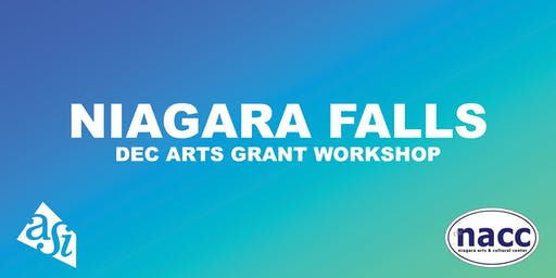 DEC Arts Grant Workshop (Niagara Falls)