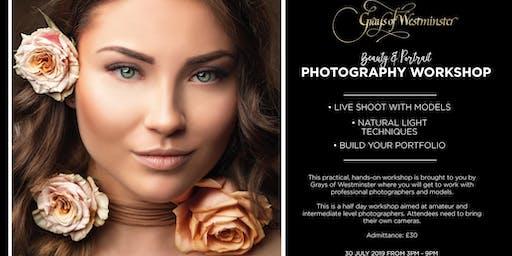 Beauty and Portrait Photography Workshop