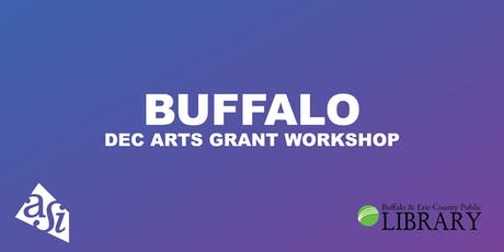 DEC Arts Grant Workshop (Buffalo) tickets