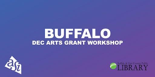 DEC Arts Grant Workshop (Buffalo)