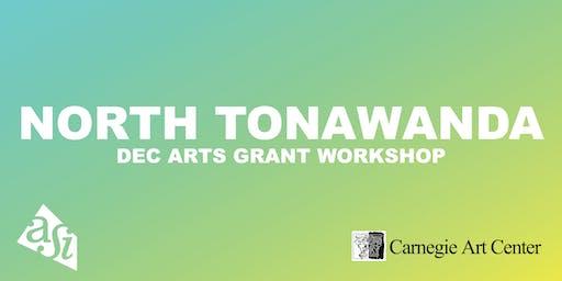 DEC Arts Grant Workshop (North Tonawanda)