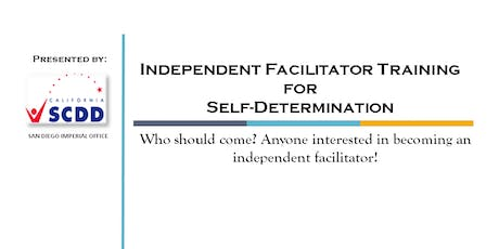 Independent Facilitator Training for Self-Determination tickets