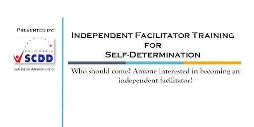 Independent Facilitator Training for Self-Determination