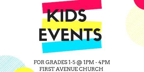 First Kids! Summer Days (Grade 1-5) tickets