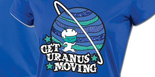 FREE SIGN UP: Get Uranus Moving Run/Walk Challenge 2019 -Raleigh