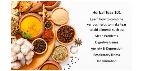 Herbal Teas and Their Health Benefits tickets